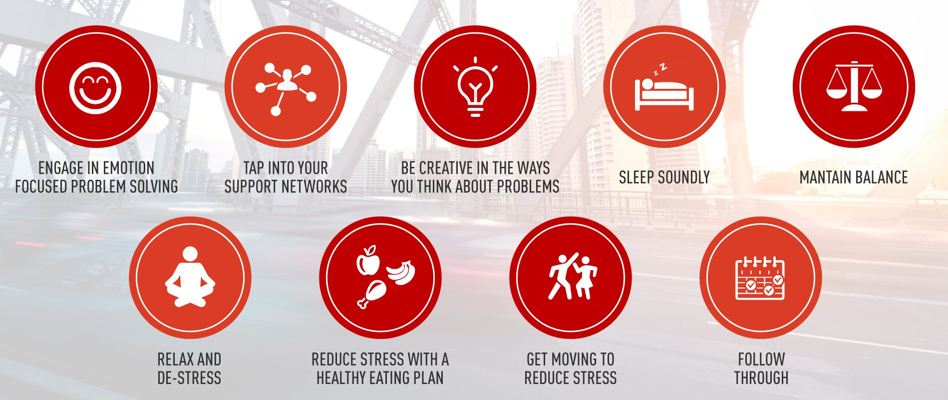 nine activities to help with stress and fatigue
